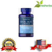 HAIR SKIN NAILS GROWTH PILL *ONE A DAY* *2 MONTH SUPPLY* SUPPLEMENT 60 SOFTGELS