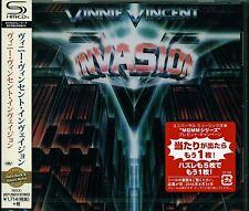 VINNIE VINCENT INVASION 2016 JAPAN RMST SHM HIGH FIDELITY FORMAT CD