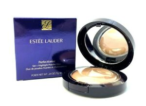 Estee Lauder Perfectionist Set+Highlight Powder Duo ~ 06 Extra Deep ~ .24oz BNIB