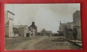 Postcard Pool Room Barber Shop Rosetown Saskatchewan  B P Skewis  Nutana RP