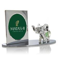 Cartoon Elephant Picture Frame Made with Genuine Matashi Crystals