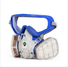 Spraying Face Gas Mask 6200 Suit Respirator Painting with Goggles Paint glasses