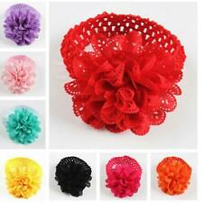 Toddler Infant Baby Kids Girls Lace Flower Hairband Headband Dress Up Head band