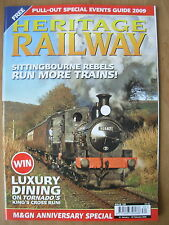HERITAGE RAILWAY THE COMPLETE STEAM NEWS MAGAZINE ISSUE 120 JANUARY 21 2009