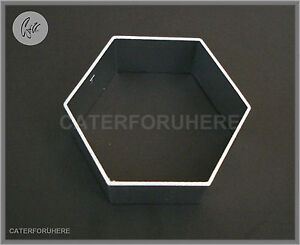 HEXAGON BISCUIT CUTTER SEAMLESS COOKIES CLAY CRAFT CAKE DECORATING SUGARCRAFT