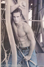 POSTER : INNER CITY BLUES - SEXY MALE MODEL -    FREE SHIPPING ! #3342    RW2 S