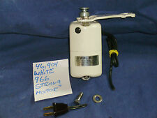 WHITE 966 SEWING MACHINE TESTED SMOOTH AND STRONG MOTOR & MOUNT & SCREW