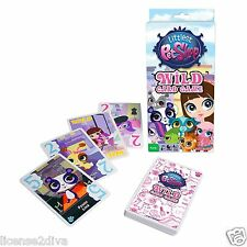 LITTLEST PET SHOP WILD CARD GAME! 2-4 PLAYERS! FAMILY GAME! 4 YEARS +! FREE SHIP
