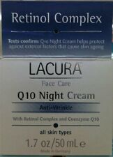 LaCura Face Care Q10 Night Cream Anti-Wrinkle with Retinol & Co-Enzyme 50ml