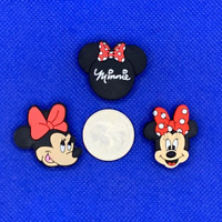 Minnie Mouse Shoe Charms