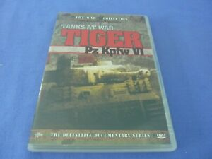 Tanks at War Tiger Pz Kpfw VI DVD The War Collection Region 0 Free Tracked Post