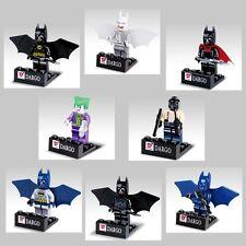 Lot of 8 Sets Super Hero Batman Joker  MiniFigures Building Toy Free Shipping