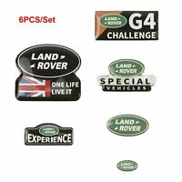 Logo Sticker Labels for Traxxas TRX4 RC4WD D110 D90 Land Rover Defender RC Car