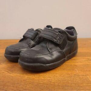 Kid's Boy's Black Stride Rite DANNY Dress Shoes Sz 8 Wide