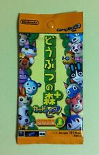 1 Pack Doubutsu no Mori + Card e Collection Series 1 Animal Crossing JAPAN NEW