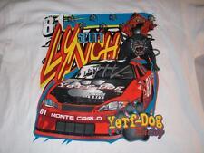 Scott Lynch 81 Monte Carlo Yerf-Dog Racing NASCAR White Gildan T-shirt  Men's XL