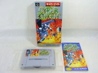 CYBER KNIGHT Super Famicom Nintendo SFC Video Game Boxed Japan sf