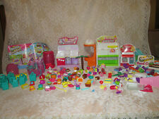 Shopkins lot, over 300 pieces : Fruit & veggie, Makeup Spot, Pizza and much more