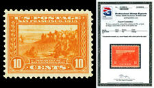 Scott 400A 1913 10c Panama-Pacific Perf 12 Issue Mint VF NH Cat $390 w/ PSE CERT