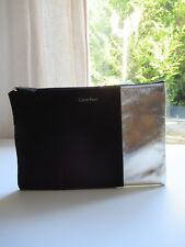 💓 Pochette Ou Trousse Calvin Klein Couleur Noir Neuf