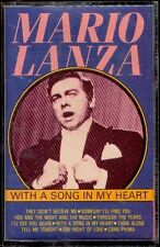 MARIO LANZA - With A Song In My Heart - Europe CASSETTE Happy Music 1987