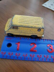 Vintage Zylmex Zee Yellow Dodge Van #P320 - 1/64 Diecast