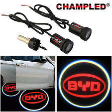 CHAMPLED for BYD Door Projector Logo Shadow Car Tuning lights emblem