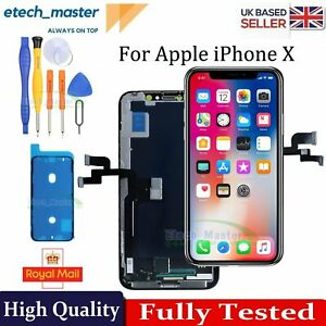 For iPhone X LCD Display Retina Touch Screen Digitizer Repair Panel Replacement