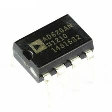 5PCS New AD620 AD620AN DIP-8 Instrumentation Amplifier IC