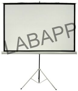 PROJECTION SCREEN (WITH METALLIC STAND),