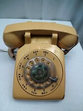 Vintage Itt Rotary Phone 1970S Beige Rotary Dial Desk Claudia'S Bargains Collec""