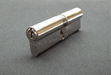 BULK BUY - 10 x Nickel Euro Cylinder Lock Upvc Doors 35/45 (EC01)