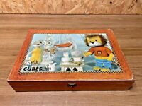 "TITUS LE PETIT LION "" ORTF ""  MADE IN FRANCE  PUZZLE VINTAGE    JOUET ANCIEN"
