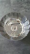 Cuit-vapeur , cuiseur vapeur en inox de 10 cm à 22 cm , passoire à légumes