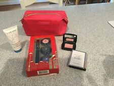 NEW Lancome High Definition Eye Makeup Set Bag Blush Cleanser La vie Est Belle
