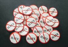 Lot of (25) Don't Hate, No Hate Button Backpack Pin 1""