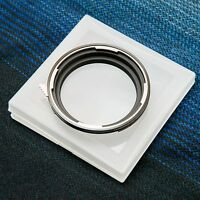 Hasselblad V Lens to Mamiya 645 (M645) / Phase One Mount Adapter (Free Body Cap)