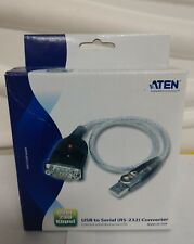 BRAND NEW In Box Aten UC-232A USB to serial RS-232 Converter cellphone pda modem
