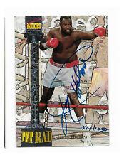 Larry Holmes Autograph Boxing Great 1994 Signature Rookies Tetrad Titans /1050