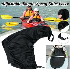 Adjustable Kayak Spray Skirt Cover Canoe Cover Nylon Cloth Waterproof Dustproof