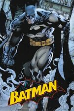 BATMAN ~ SMOKE 24x36 ART POSTER DC Comic Book Art By Jim Lee NEW/ROLLED!