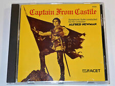 Alfred Newman CAPTAIN FROM CASTILE Tyrone Power Jean Peters Soundtrack Suite CD