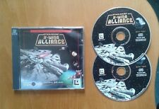 Star Wars: X-Wing Alliance for the PC, CD-ROM (Windows) - 2 discs, VGC