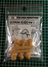 VERLINDEN 185 - GERMAN HEADS n°2 - 1/35 RESIN KIT