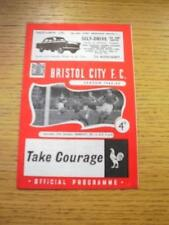27/10/1962 Bristol City v Barnsley  (Slight Fold). No obvious faults, unless des