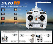 Original Walkera RC DRONE PART White DEVO 10 2.4Ghz 10CH 2KM  Radio Transmitter