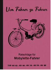 MOTOBECANE mobylette manuel d'utilisation manuel guide av 43 76 89