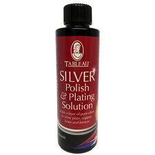 Tableau Silver Polish and Silver Plating Solution 100ml Adds Pure Silver Layer