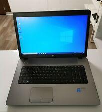 HP 470 G2, 17 Pouces, SSD , pavé numérique