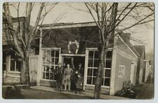 1910 era W.A Rhodes Blacksmith Shop Dothan Alabama real photo postcard RPPC